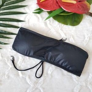 Juicy Couture Beach Royalty Black Tube Bikini top